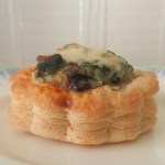 Old Bay Crab and Mushroom Vol Au Vents