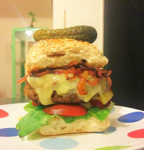 Devilled Hamburgers