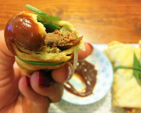 Crispy Duck with Green Pancakes2jpg