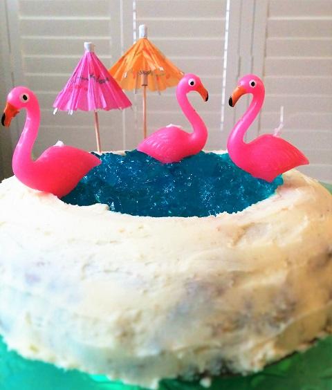 Swan Lake Cake