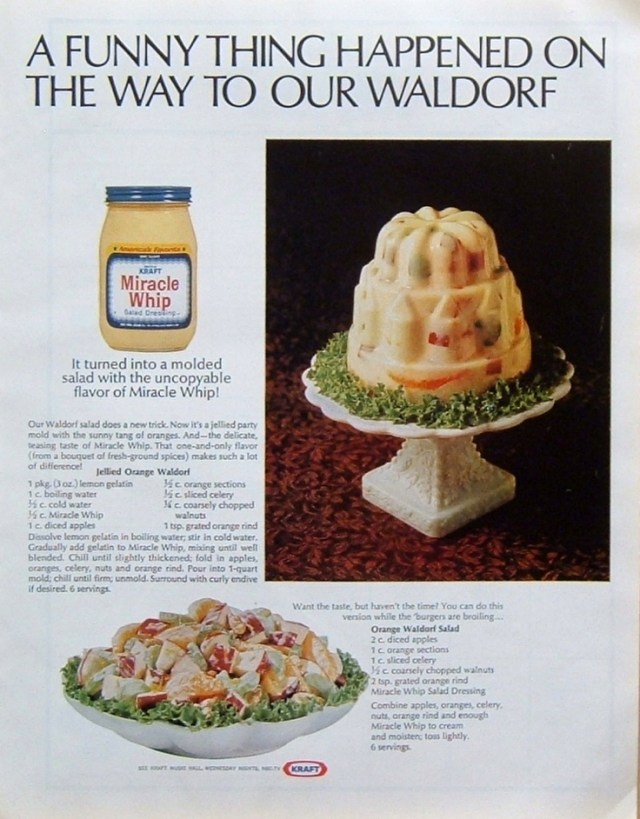 Retro Waldorf Salad