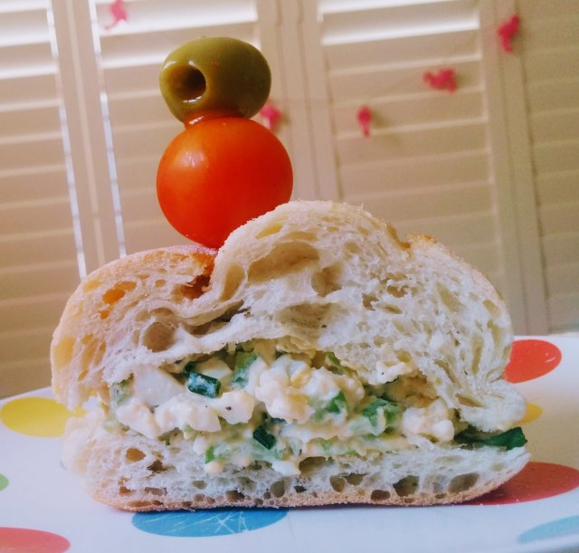 Anne's Poetical Egg Salad Sandwiches