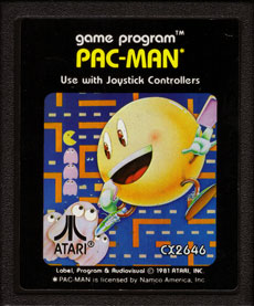 Image result for pac man 2600