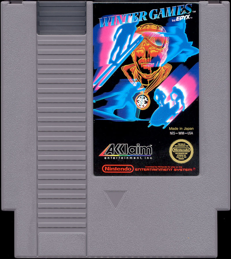 Image result for winter games NES