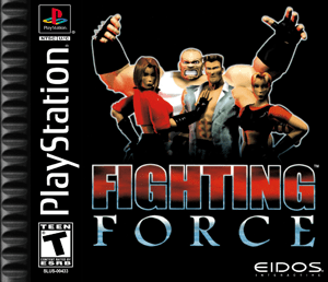 PS1 Fighting Force Custom Game Case Retro Game Cases