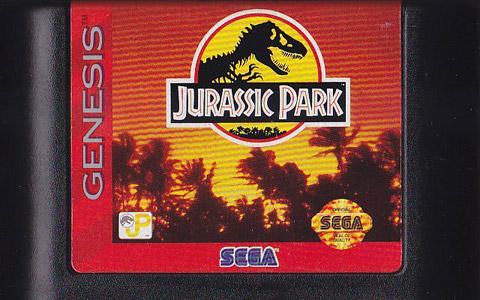 Retro Game Guide  Genesis  Jurassic Park