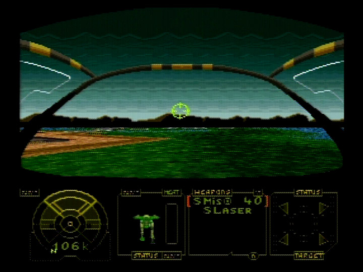Retro Game Guide  SNES  MechWarrior