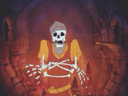 Dragons Lair death