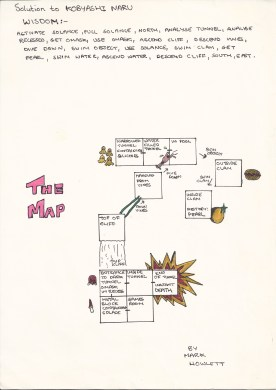 The art of game mapping - maps by Mark Howlett - Retro Games