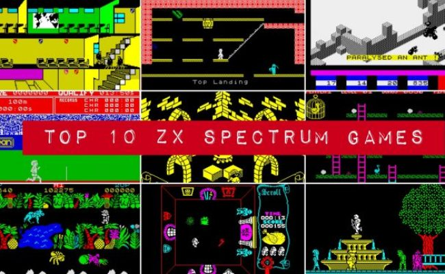 Top 10 Spectrum Games The Best Speccy Games Ever