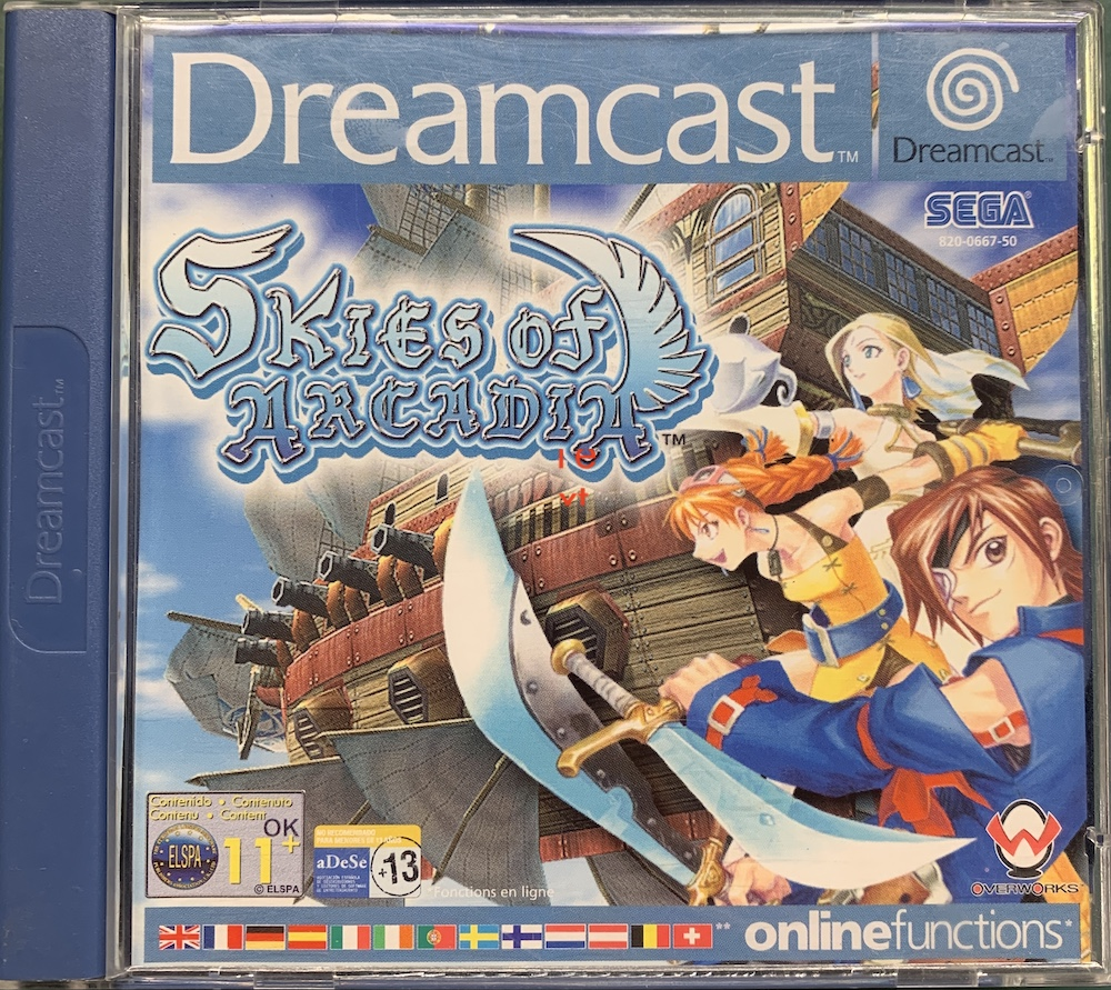 medium resolution of  of our dreamcast scart cable that supports vga games we are giving away our copy of skies of arcadia which doesn t support vga lol