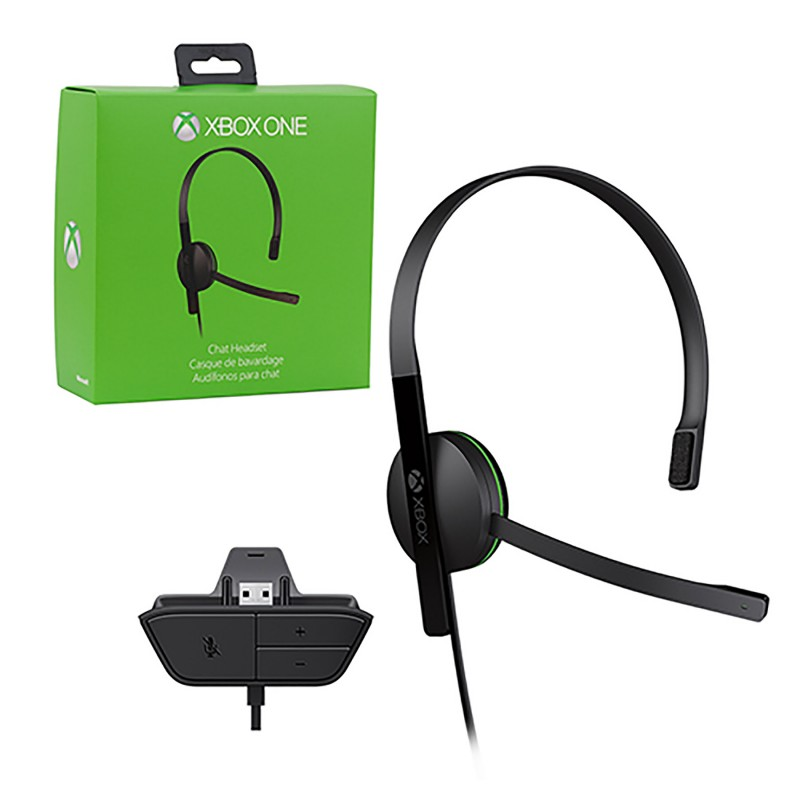 Xbox One Headset Wired Chat Headset Microsoft