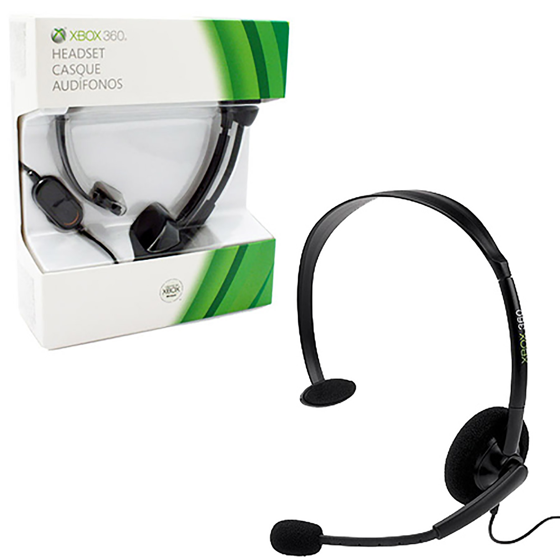 xbox 360 headset wiring diagram sr7 avr wired black new microsoft