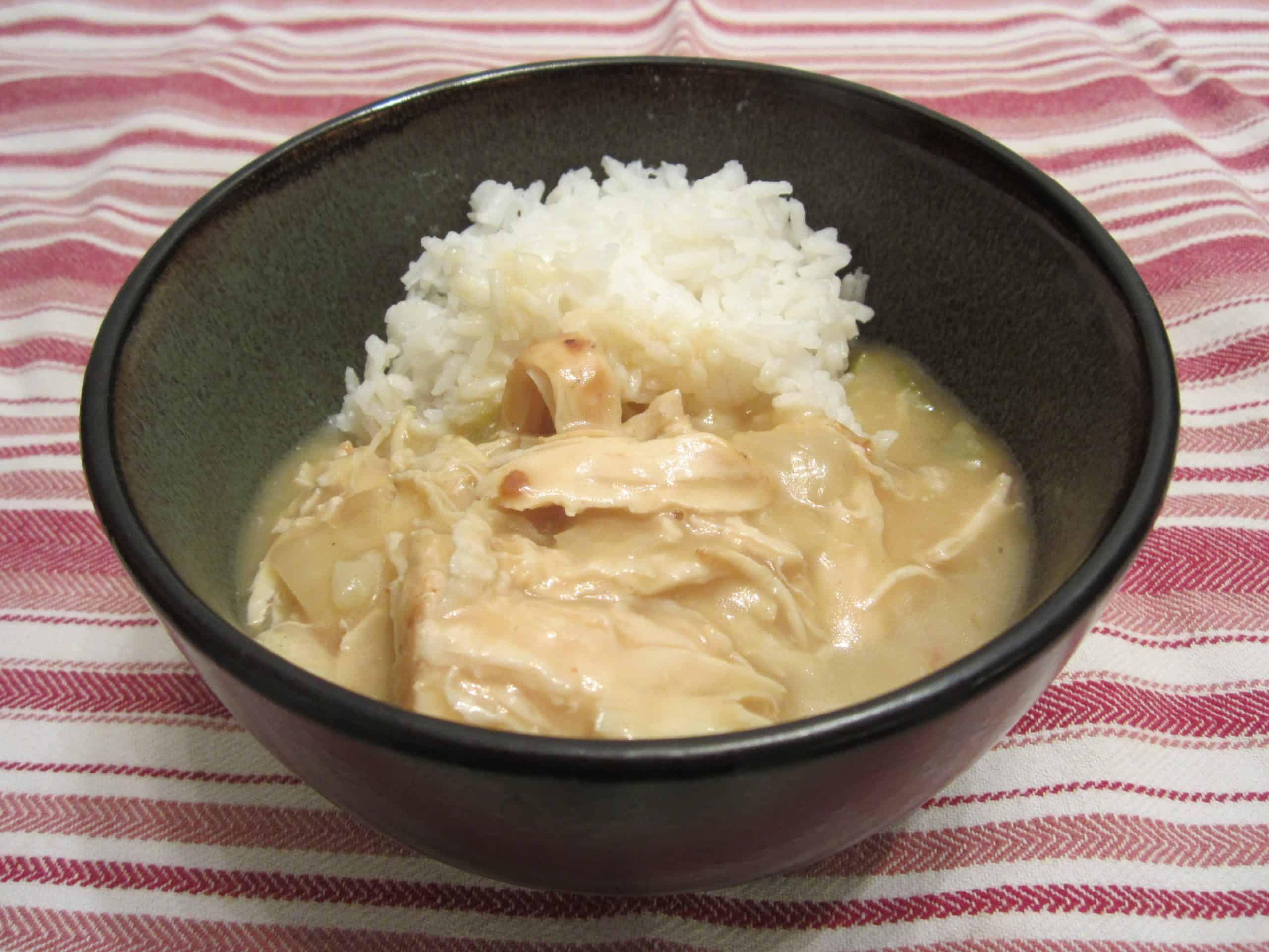 Creamy Chicken Etouffee
