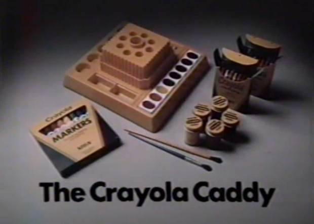Crayola Caddy with Lazy Susan