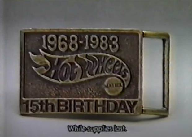 Hot Wheels Belt Buckle