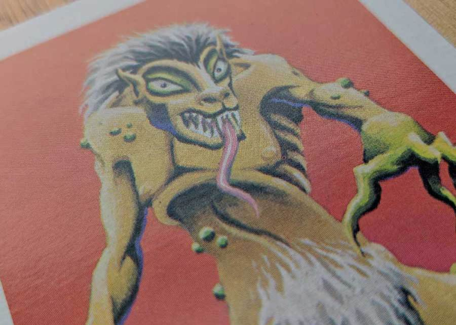 Dungeons & Dragons Monster Card - Ghoul