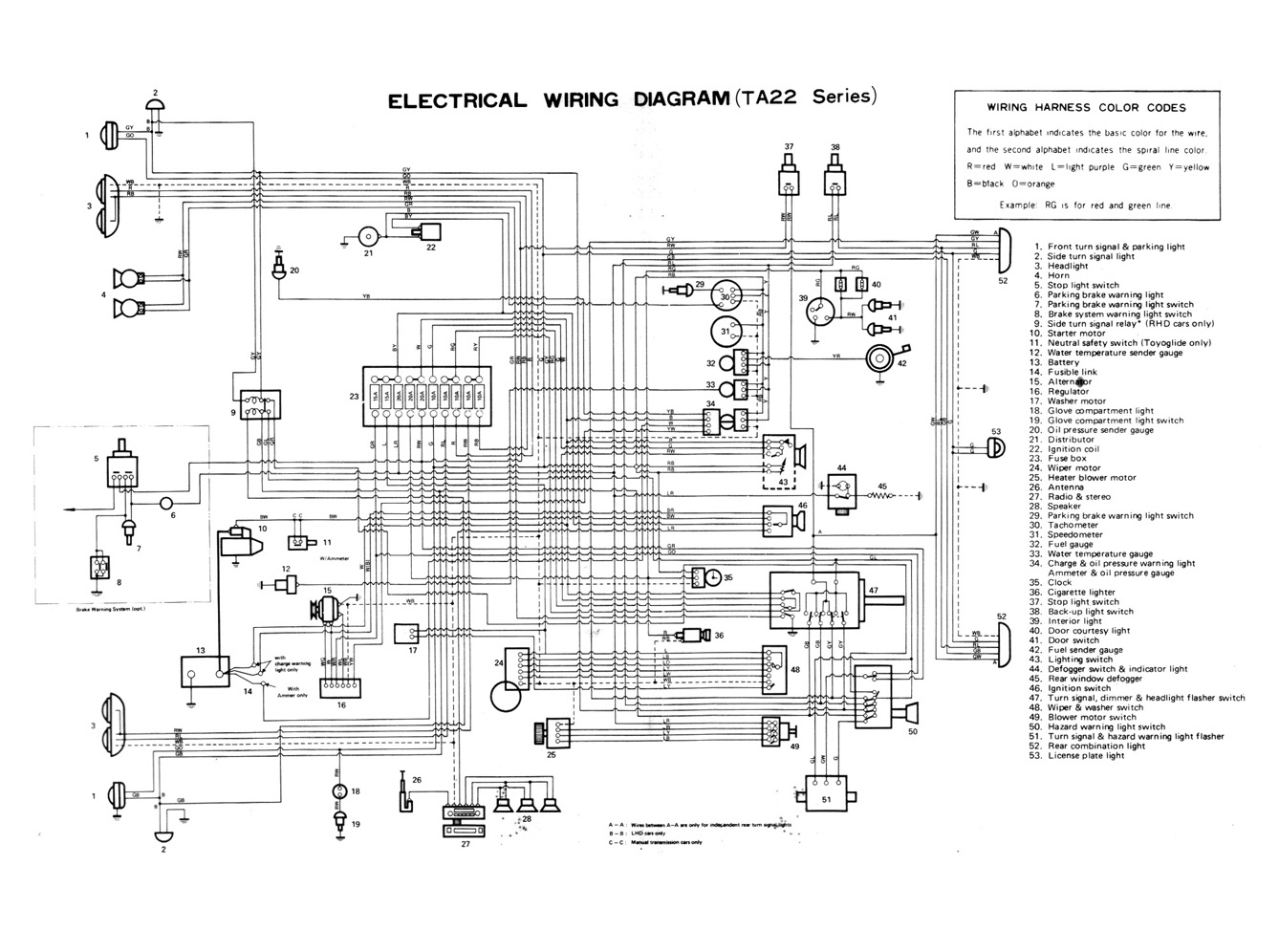toyota electrical wiring diagram 6 way trailer connector on free engine