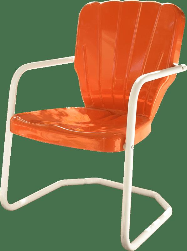 Retro Metal Lawn Chairs
