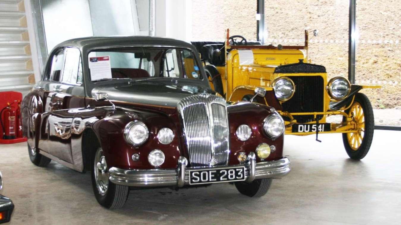 Daimler 3½ litre Sportsman