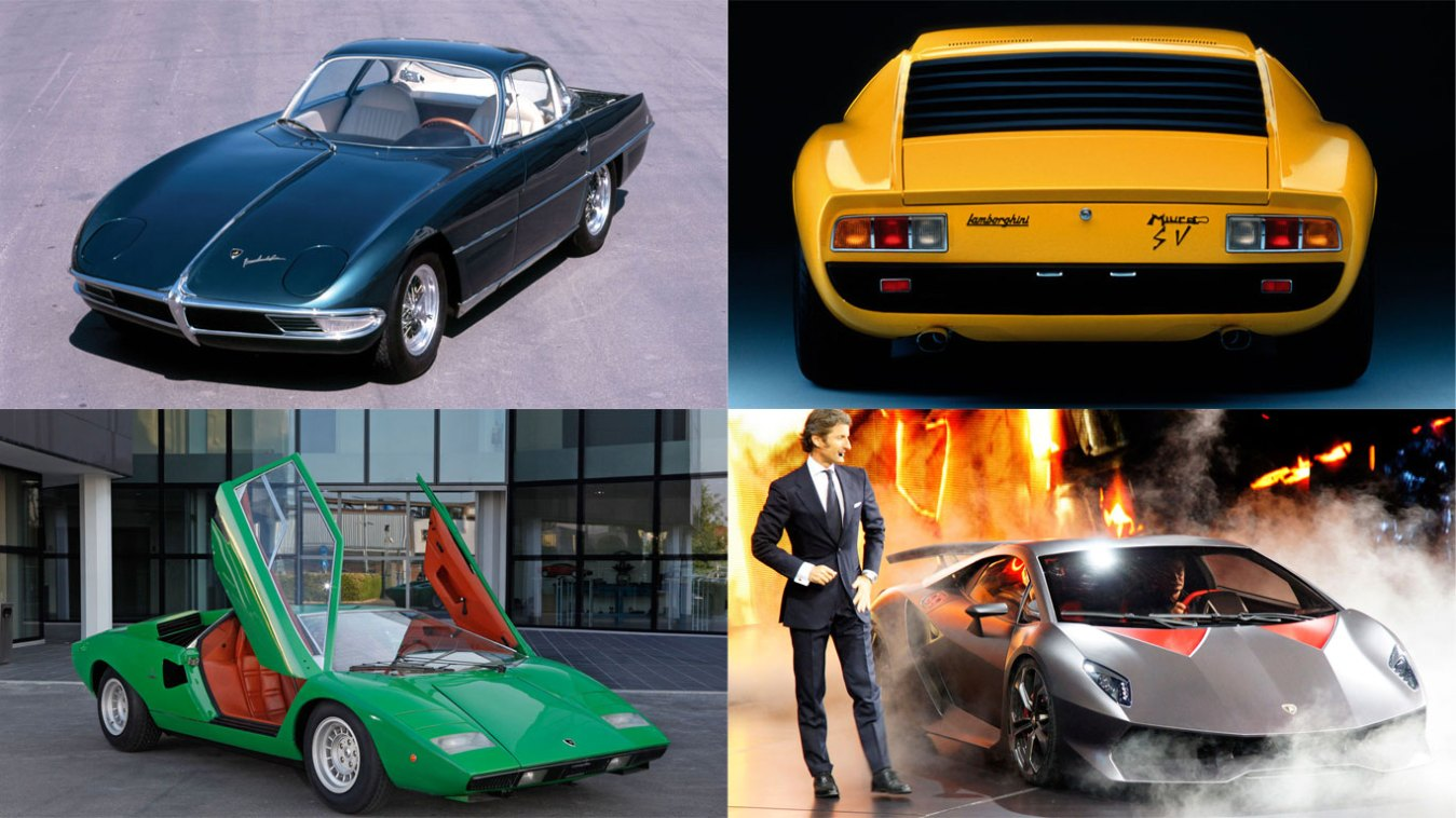 History of Lamborghini: in pictures