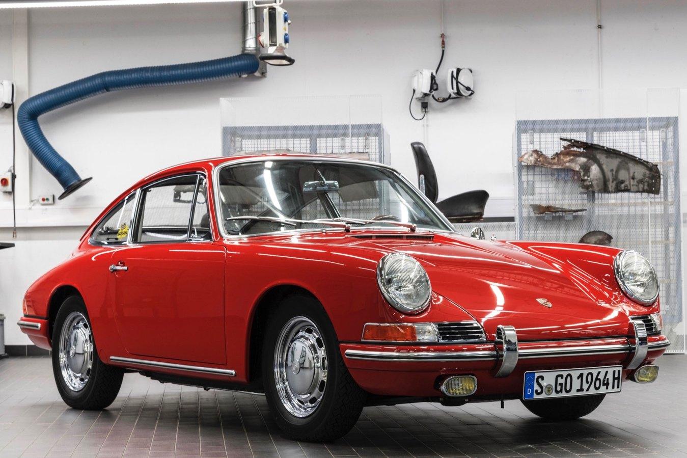 Porsche 901 restored