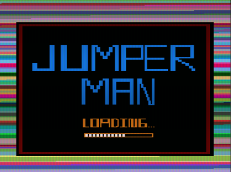 Jumper Man, pantalla de carga