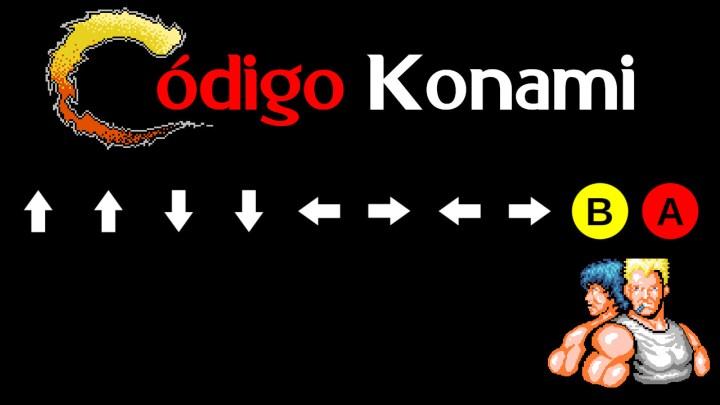 Código Konami para Contra y algunos otros de sus juegos.