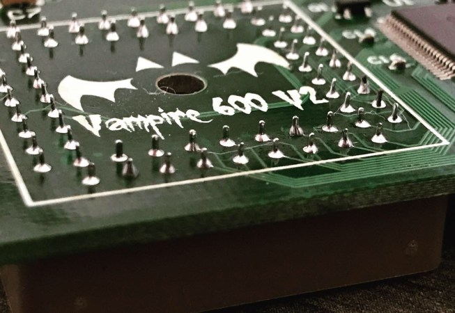 Vampire V2 600 PLCC Replacement