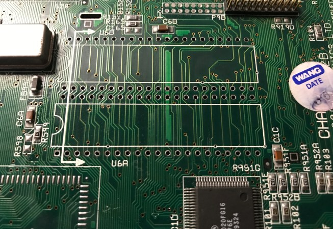 Amiga 1200 ROM Socket Replacement - OLD Sockets