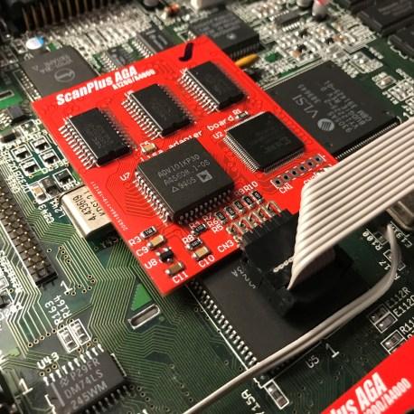 ScanPlus AGA Amiga 1200/4000D