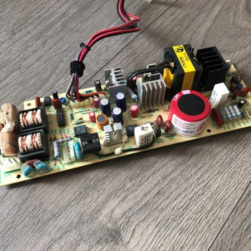 Amiga 1000 PSU Recapping Completed