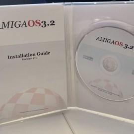 AmigaOS 3.2 CD