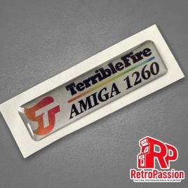 Amiga 1200 Badge - TF1260 Silver