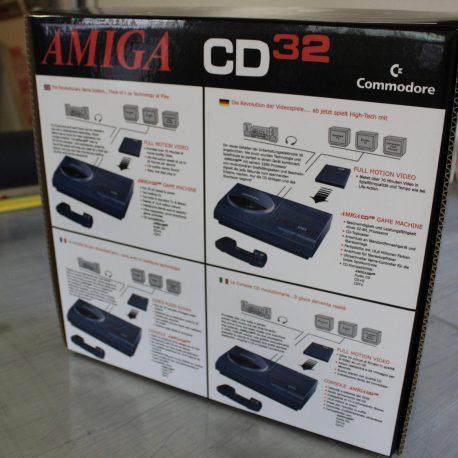 Amiga CD32 Black Edition Reproduction Box