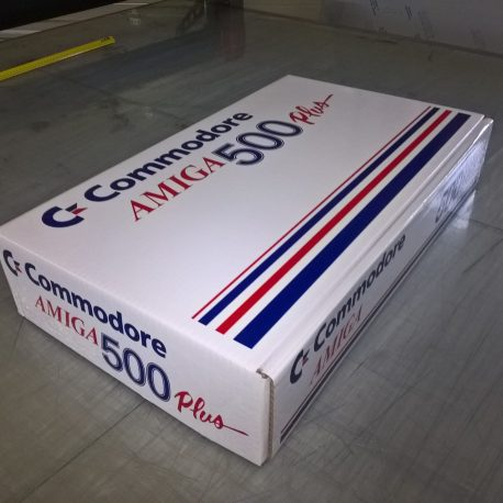 Amiga A500 Plus Reproduction Box