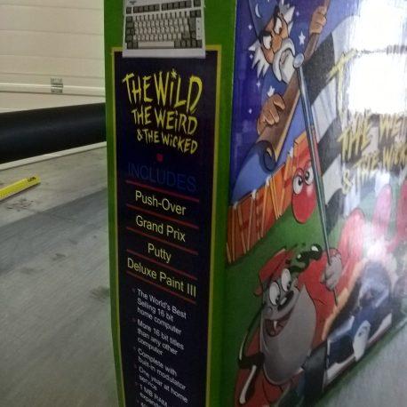 Amiga 600 Wild Weird Wicked Reproduction Box