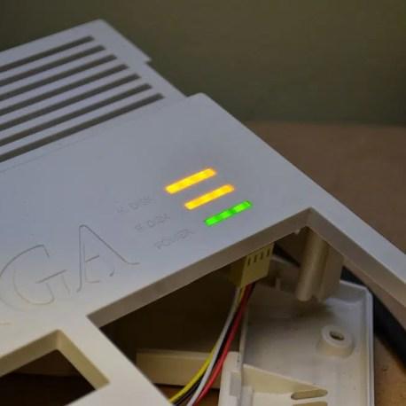 A1200 Case LEDs Amiga