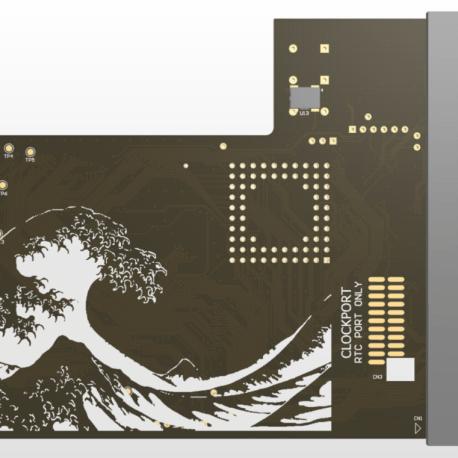 Tsunami 1230 Accelerator Back Amiga 1200
