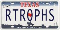 Retrophisch license plate