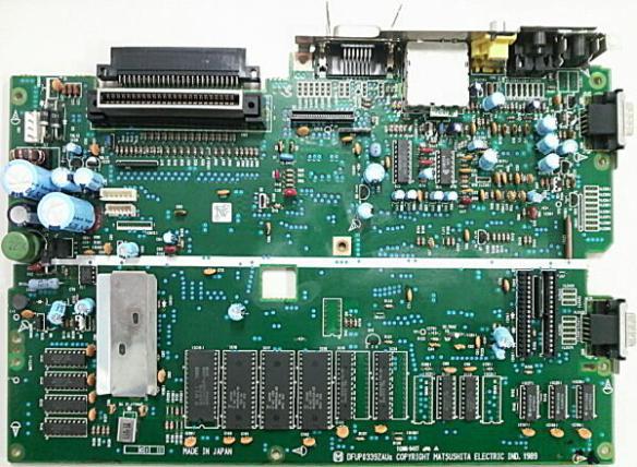 pcb_A_s Panasonic FS-A1WSX MSX2+