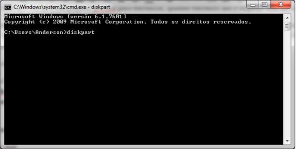 diskpart-01 Como Remover partições em pendrives