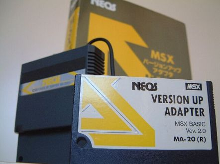 Neos_MA-20_Version_Up_Adapter_1 Lista de Interfaces e Dispositivos para MSX