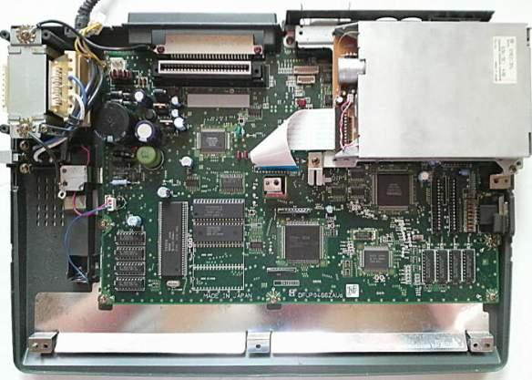 fs-a1gt_inside MSX Panasonic FS-A1GT