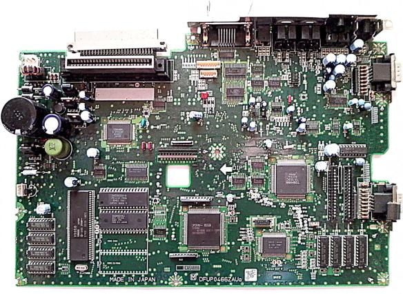 pcb_l MSX Panasonic FS-A1GT