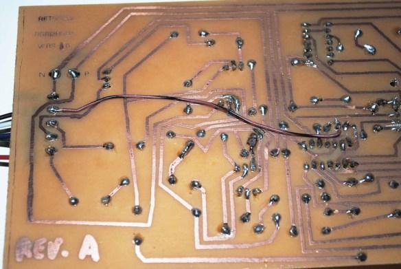placa-rgbi2rgba-4 Como Converter Sinal da placa CGA do PC-XT usando a placa GBS 8200