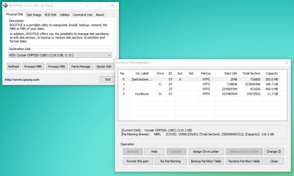 booticeglobal Um programa para gerenciar partições no Cartão SD ou Pen drive