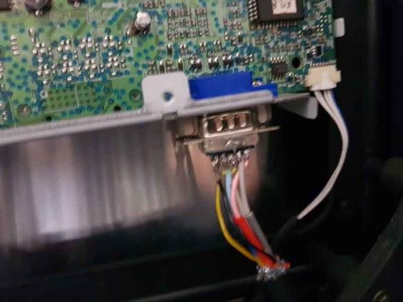 casemod-montagem-tela4 Casemod Monitor  Mbw-12 Gradiente com Monitor Samsung 510N