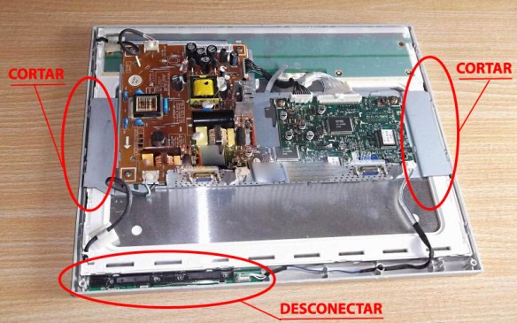 samsung-510n-open Casemod Monitor  Mbw-12 Gradiente com Monitor Samsung 510N