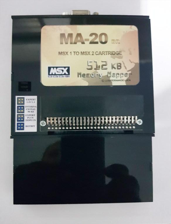 ma-20-label-1 MA-20 Transforme seu MSX1 em um MSX2 via Cartucho